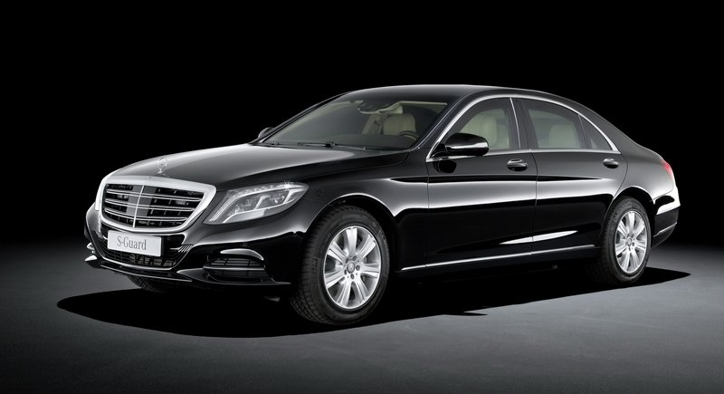2015 Mercedes-Benz S600 Guard High Resolution Exterior - image 563283