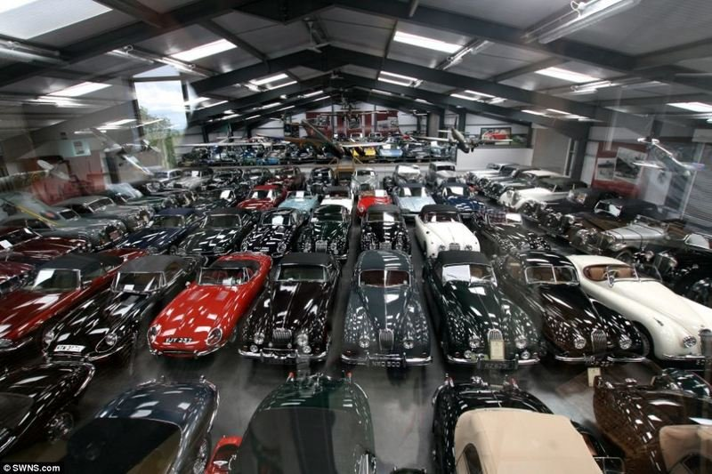 British Dentist Sells His Private Car Collection to Jaguar