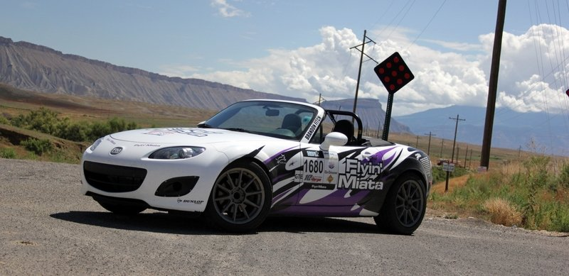 "2006 Mazda MX-5 Miata ""Nancy"" by Flyin' Miata - Driven"