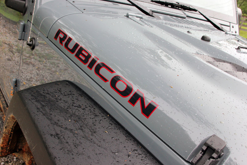 2014 Jeep Wrangler Rubicon X - Driven Emblems and Logo Exterior - image 564950