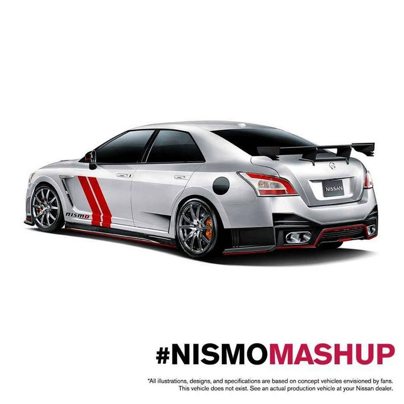 Nissan Renders Two #NISMOmashup Cars