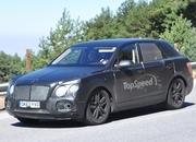 Spy Shots: Bentley SUV Caught Testing in Southern Europe - image 563512