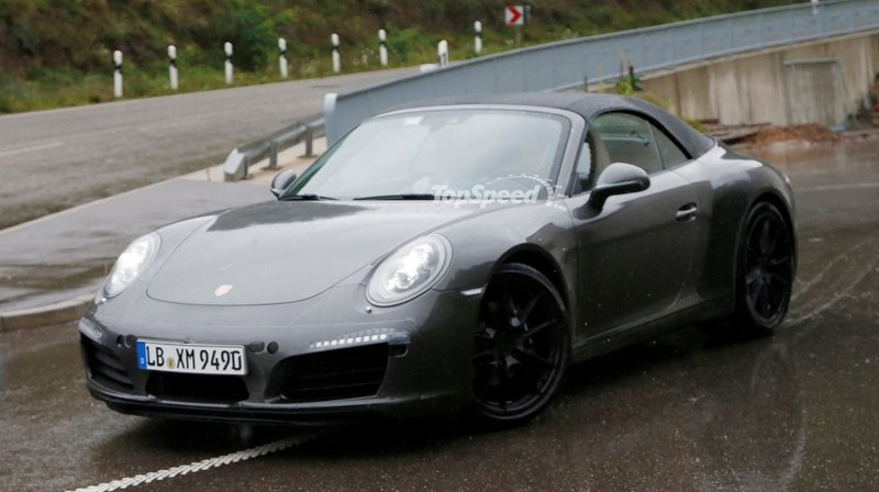 Spy Shots: Porsche 911 Convertible Goes Out for More Testing