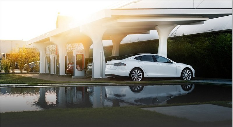 "The Tesla ""Supercharger"" Debuts Giving Model S Owners Free Charging"