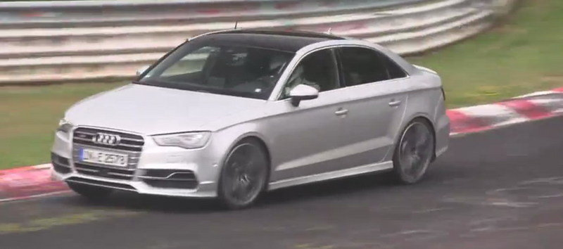 Video: Audi S3 Plus Caught Testing at Nurburgring