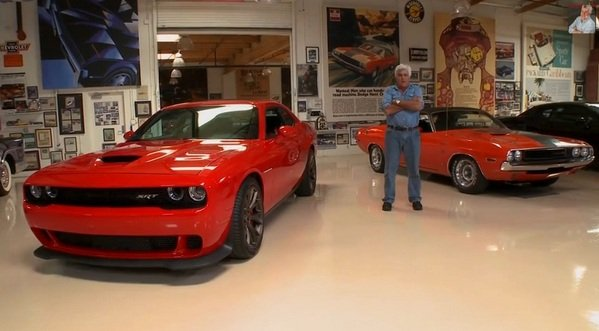 Video Jay Leno Reviews The Dodge Challenger Srt Hellcat News