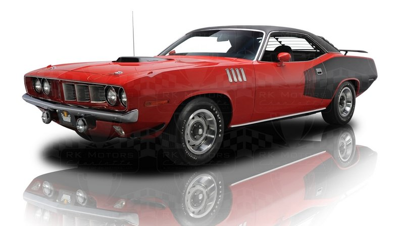 1970 - 1971 Plymouth Hemi Cuda High Resolution Exterior - image 569682