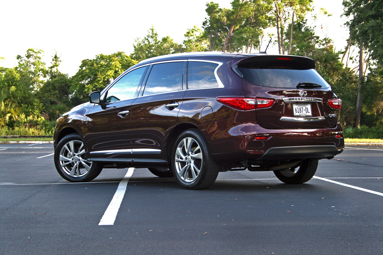 2014 infiniti qx60 driven picture 569341 car review top speed. Black Bedroom Furniture Sets. Home Design Ideas
