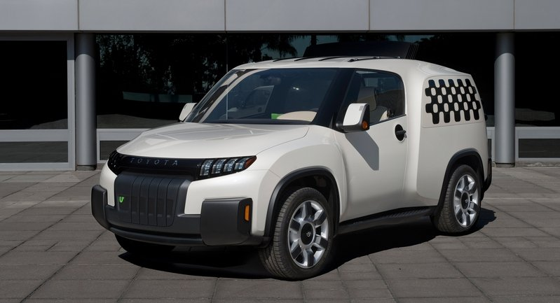 2014 Toyota U-squared Urban Utility Concept Vehicle