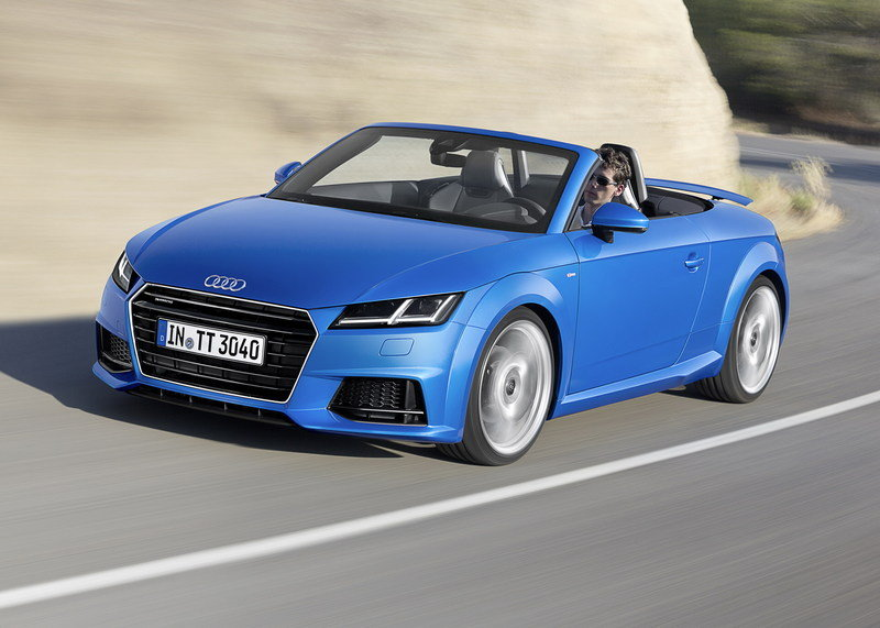 Hello Audi A4 Cabrio, Goodbye Audi TT Roadster and A5 Cabrio