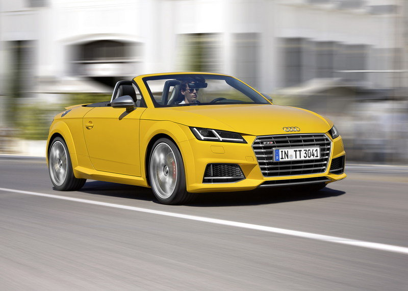 2016 Audi TT Roadster High Resolution Exterior Wallpaper quality - image 569730