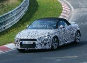 Spy Shots: Audi TT Roadster Testing At Nürburgring - image 566749