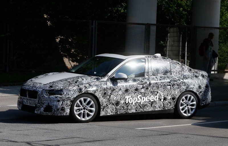 2017 BMW 1 Series Sedan Exterior Spyshots - image 567534