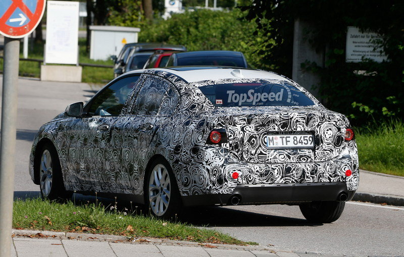 2017 BMW 1 Series Sedan Exterior Spyshots - image 567537