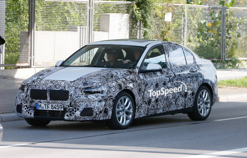 2017 BMW 1 Series Sedan Exterior Spyshots - image 567531