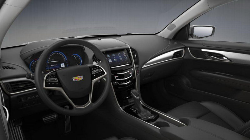 2015 Cadillac ATS Coupe Configurator Goes Online Interior - image 569002