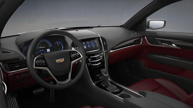 2015 Cadillac ATS Coupe Configurator Goes Online Interior - image 569003