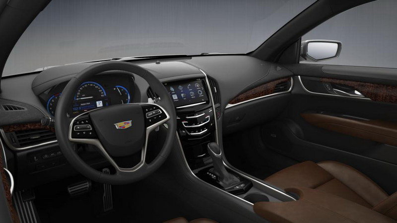 2015 Cadillac ATS Coupe Configurator Goes Online Interior - image 569004