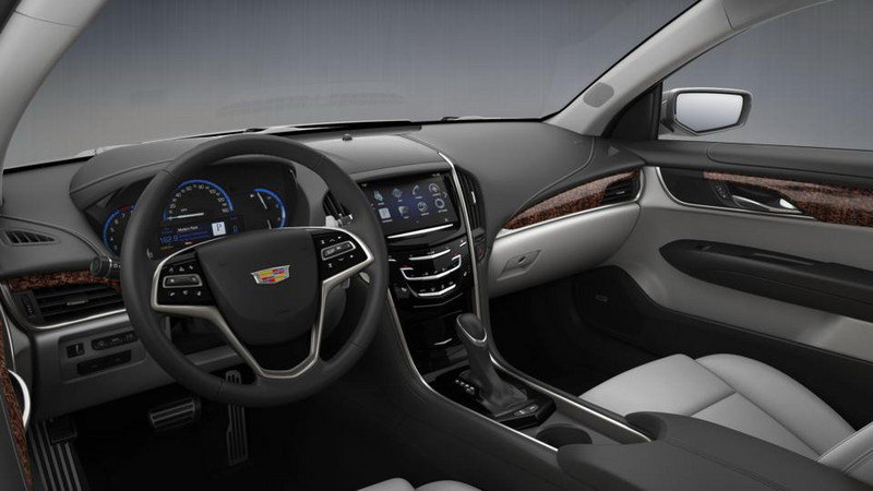 2015 Cadillac ATS Coupe Configurator Goes Online Interior - image 569005