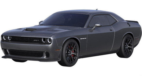 White And Pink Challenger Hellcat | Autos Post