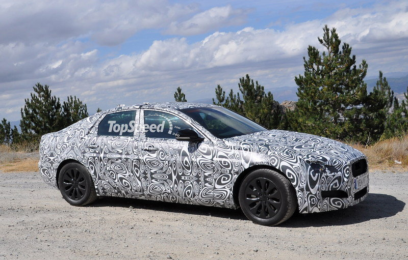 Spy Shots: 2016 Jaguar XF Caught Testing in South Europe Exterior Spyshots - image 569448