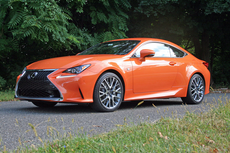 2015 Lexus RC - First Drive High Resolution Exterior - image 568492