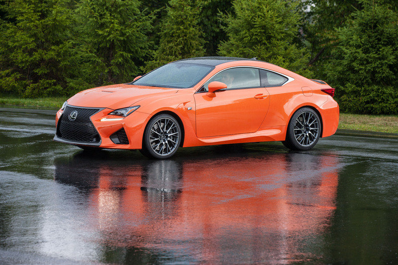 Wallpaper of the Day: 2015-2018 Lexus RC F