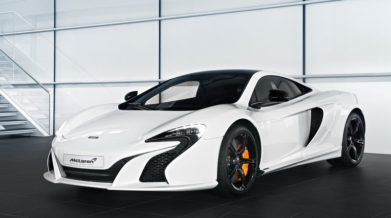 2015 McLaren 650S Pearl White By MSO