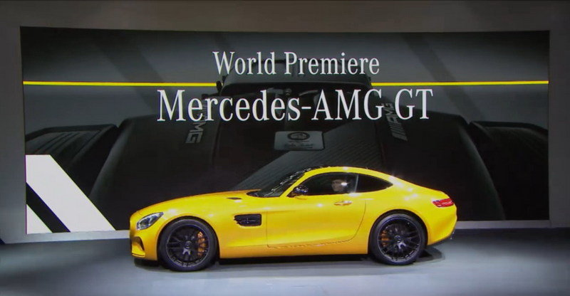 2016 Mercedes-AMG GT Exterior - image 567712