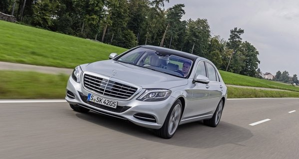 2015 Mercedes-Benz S550 Plug-in Hybrid Review - Top Speed