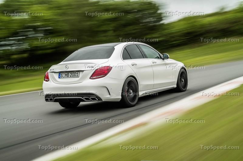 2015 Mercedes-AMG C63 High Resolution Exterior - image 569752