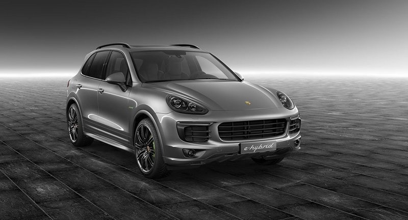 2015 Porsche Cayenne S E-Hybrid Meteor Grey Metallic by Porsche Exclusive
