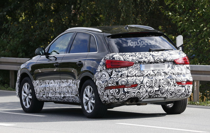 Spy Shots: 2016 Audi Q3 Loses Some Camo