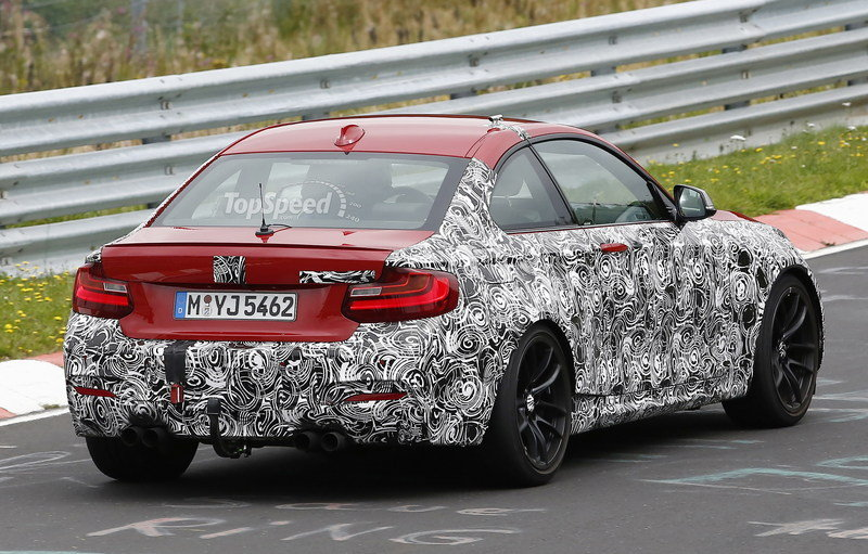 Spy Shots: BMW M2 Spied On The 'Ring