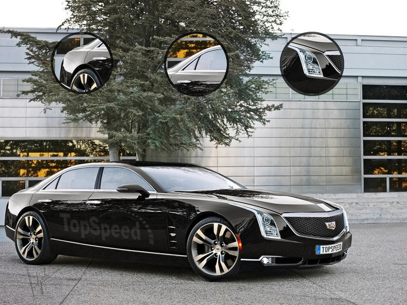 2016 Cadillac CT6 Exclusive Renderings - image 567454