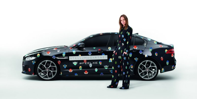 2016 Jaguar XE Superhero By Stella McCartney