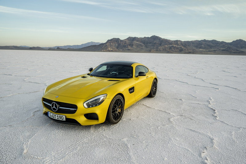2016 Mercedes-AMG GT High Resolution Exterior - image 567819