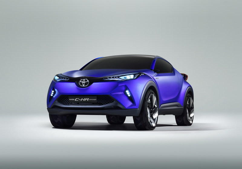 2014 Toyota C-HR Concept High Resolution Exterior - image 569471