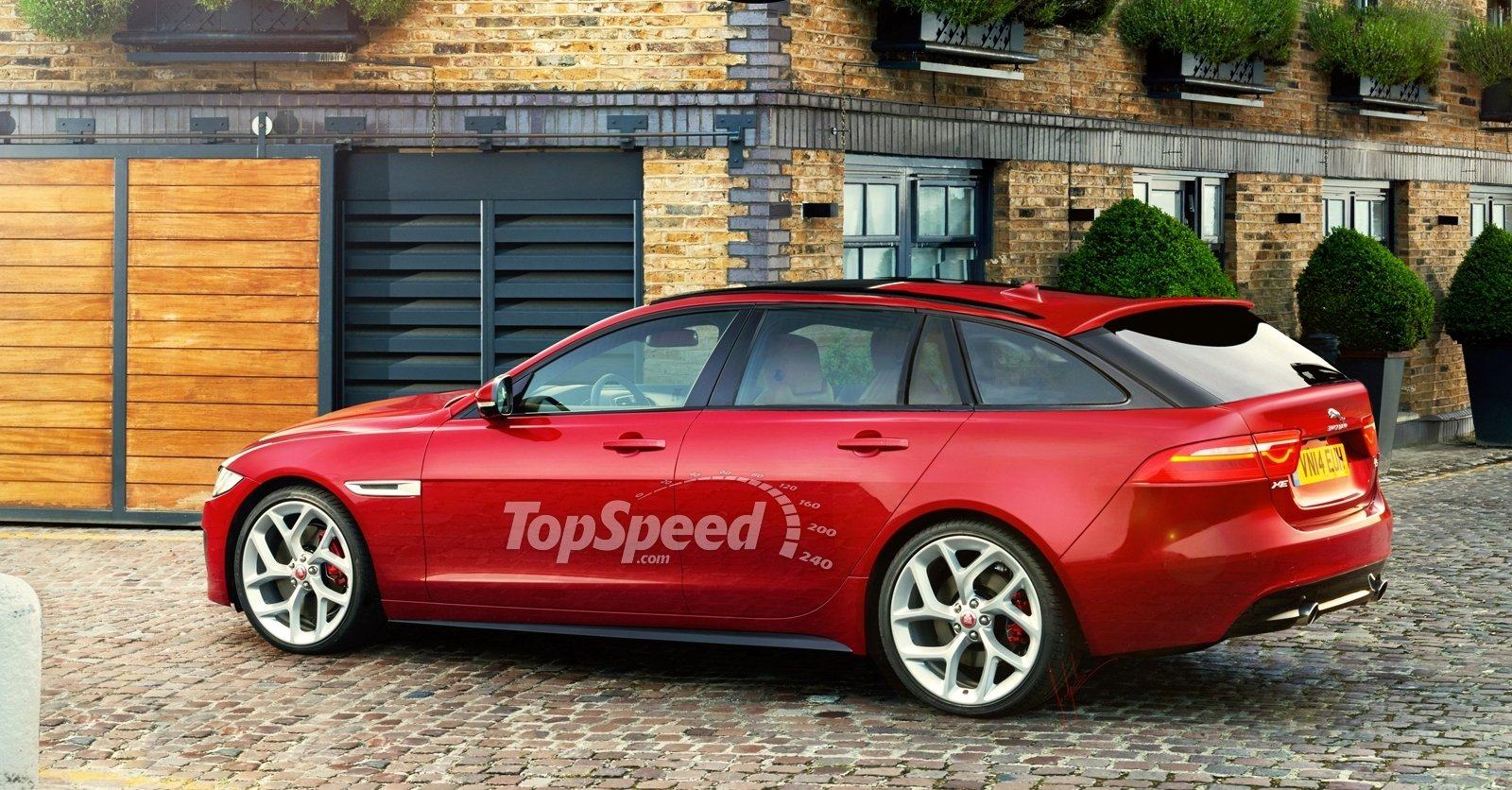 2017 Jaguar Xe Sportbrake Top Speed