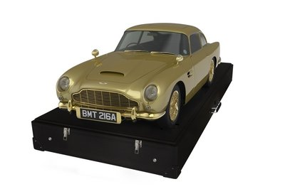 24-Carat Gold Aston Martin DB5 is Being Auctioned for Charity