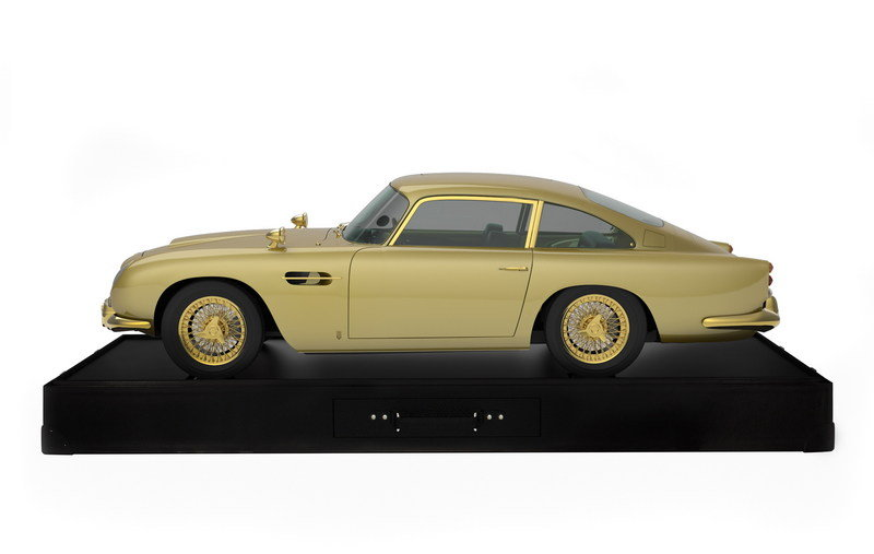 24-Carat Gold Aston Martin DB5 is Being Auctioned for Charity Products - image 567436