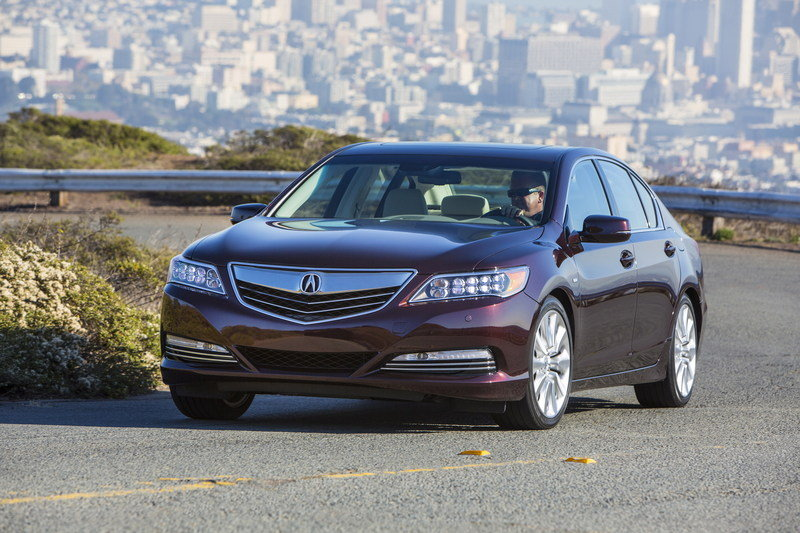 2014 Acura RLX Sport Hybrid SH-AWD High Resolution Exterior - image 570290