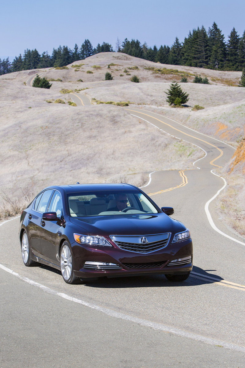 2014 Acura RLX Sport Hybrid SH-AWD High Resolution Exterior - image 570294