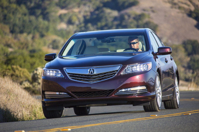 2014 Acura RLX Sport Hybrid SH-AWD High Resolution Exterior - image 570306