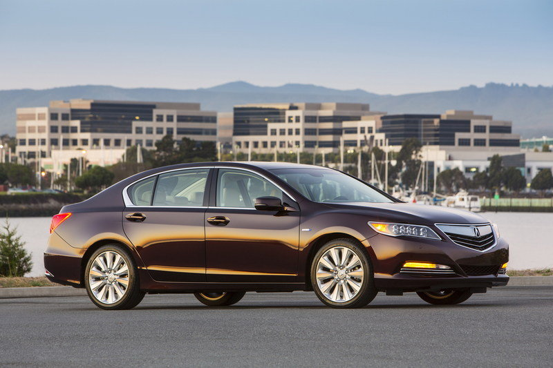 2014 Acura RLX Sport Hybrid SH-AWD High Resolution Exterior - image 570282