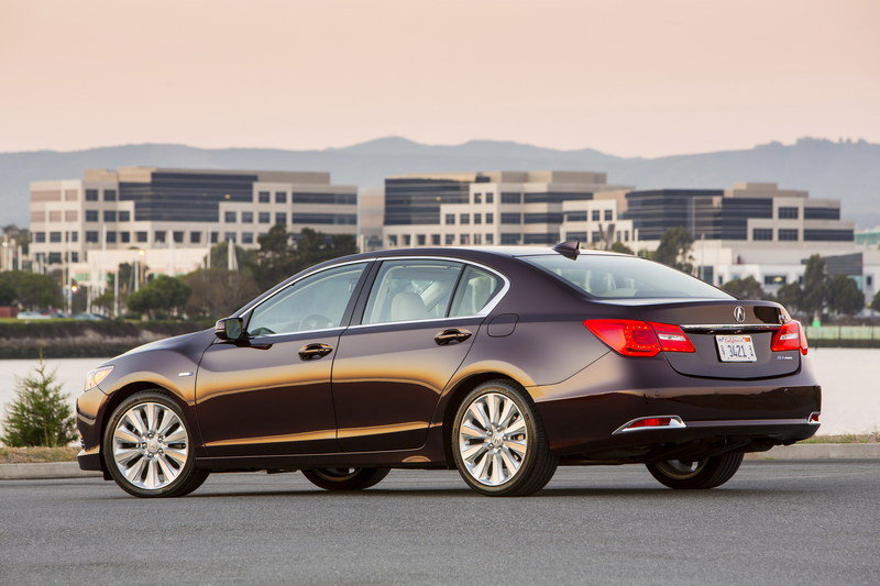 2014 Acura RLX Sport Hybrid SH-AWD High Resolution Exterior - image 570284