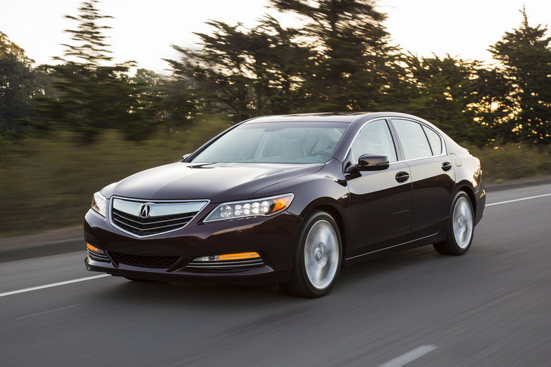 2014 Acura RLX Sport Hybrid SH-AWD High Resolution Exterior - image 570286