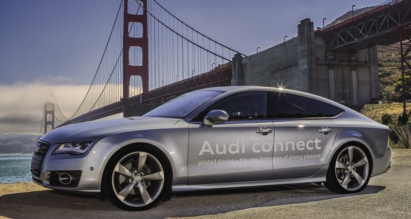 Audi Gets Autonomous Driving Permit in California