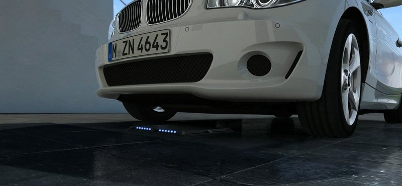 BMW Prepares Inductive Charging System
