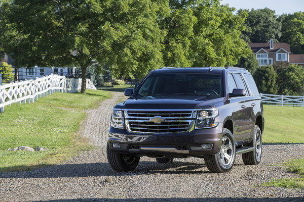 2015 Chevrolet Tahoe Z71 | car review @ Top Speed